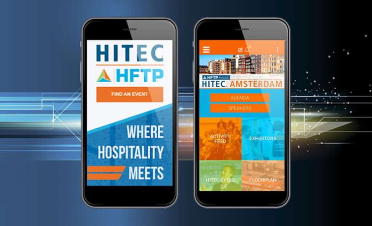 HFTP Multi-Event Mobile App - Screenshot