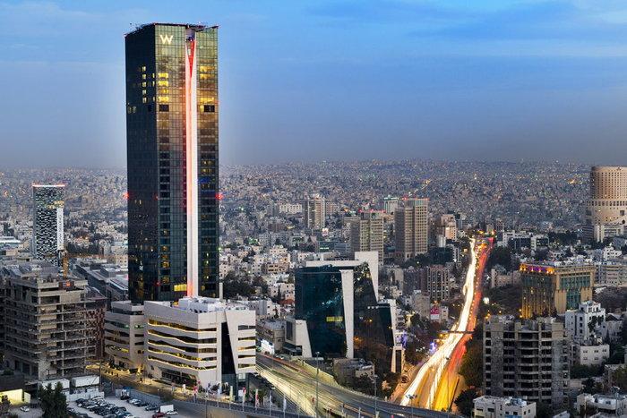 w amman hotel opens in jordan