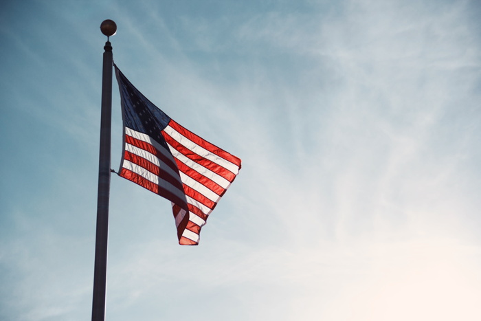 U.S. Flag - Photo by Sydney Fischer on Unsplash