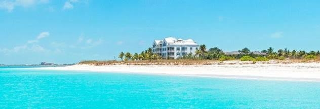 Point Grace Boutique Hotel in Turks And Caicos - View from the sea