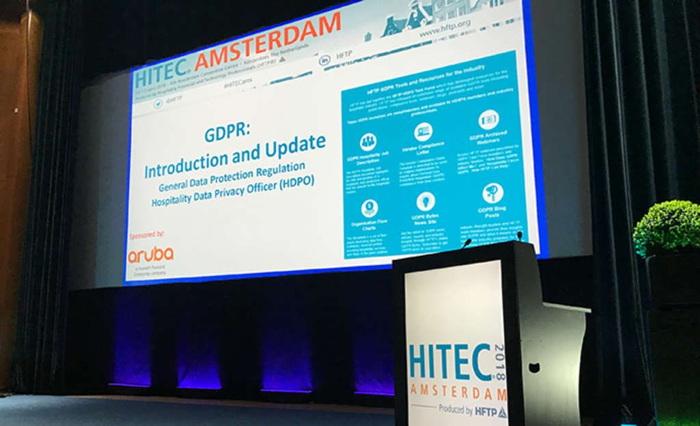 HITEC Amsterdam stage