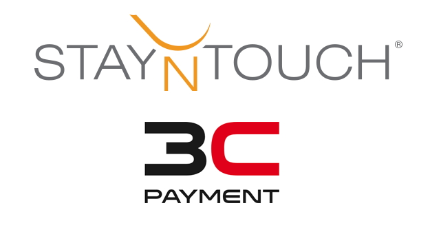 StayNTouch and 3C Payment logos