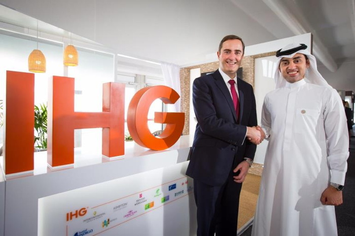 Image from IHG and Al Hokair Group signing ceremony