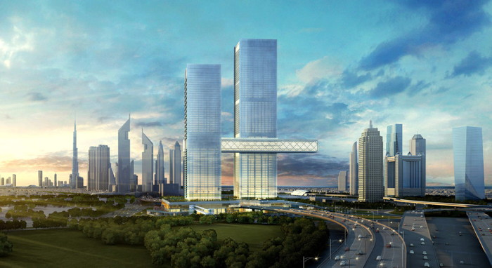 Rendering of the One&Only One Za'abeel in Dubai