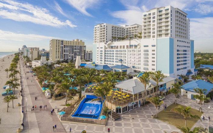 Rendering of the Margaritaville Hollywood Beach Resort