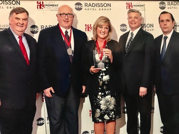 Radisson Hotel Group Awards presentation