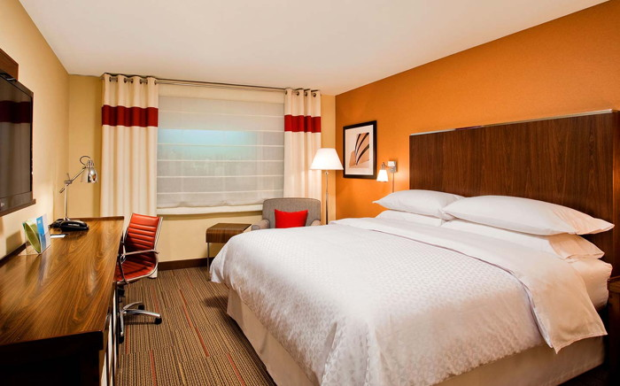 A Four Points by Sheraton Hotel Room