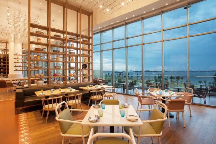 Views from Malabar Café at Grand Hyatt Kochi Bolgatty