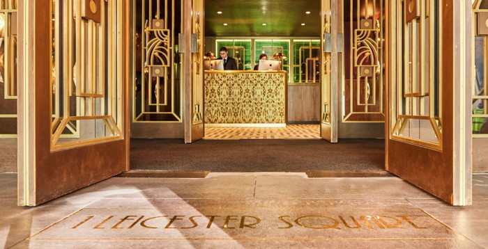 Hotel Indigo London - 1 Leicester Square - Entrance