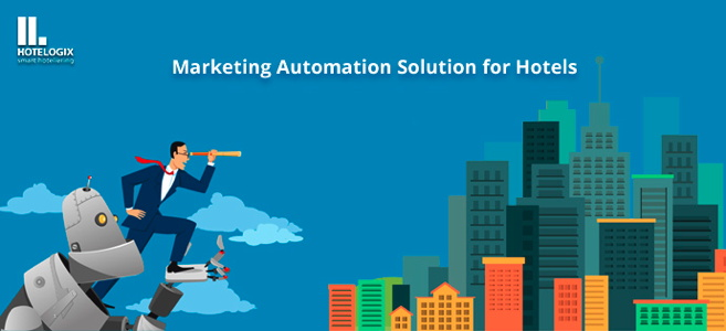 Illustration - Marketing Automation for Hotels concept
