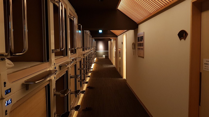 A capsule hotel room - By Uploader - Own work, CC BY-SA 4.0, https://commons.wikimedia.org/w/index.php?curid=66780764