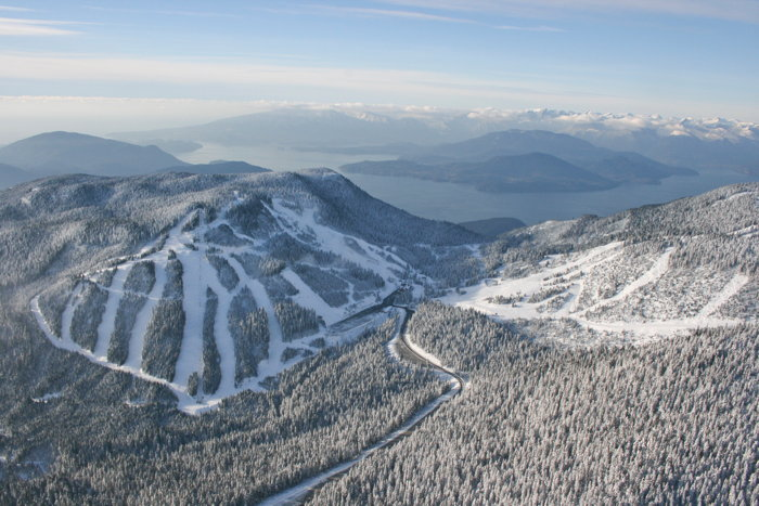 Cypress Mountain in Vancouver, B.C.
