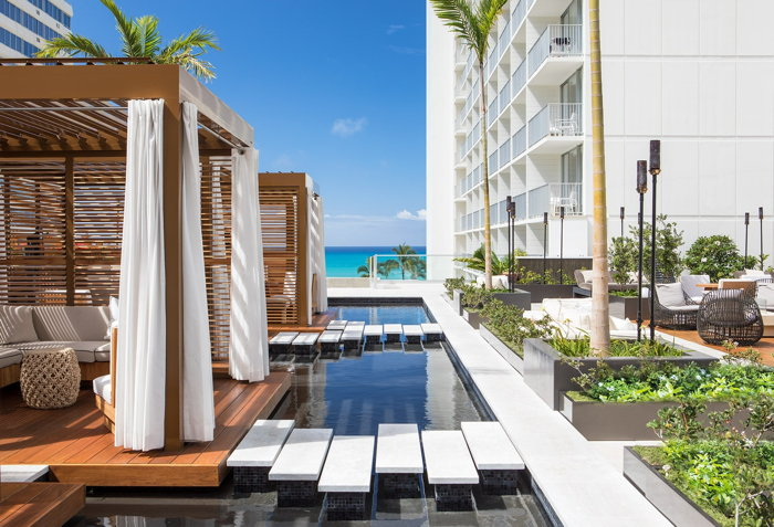 39 alohilani resort waikiki beach opens on waikiki beach. Black Bedroom Furniture Sets. Home Design Ideas