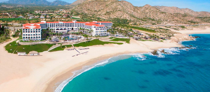 Hilton Los Cabos Beach & Golf Resort - Aerial view
