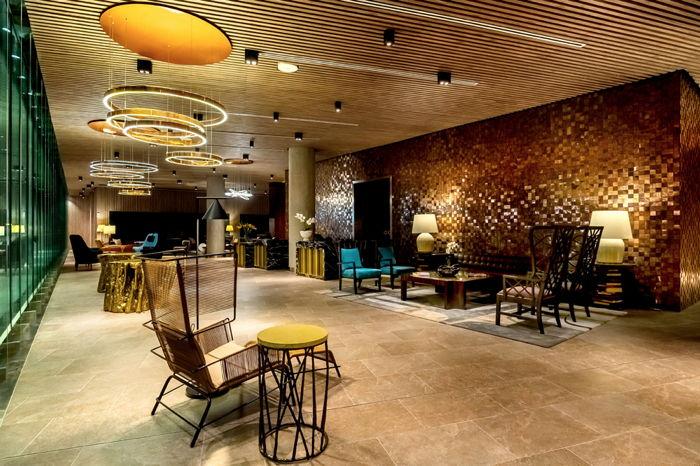 Lobby in Hyatt Centric San Isidro Lima