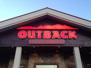 An Outback Steakhouse