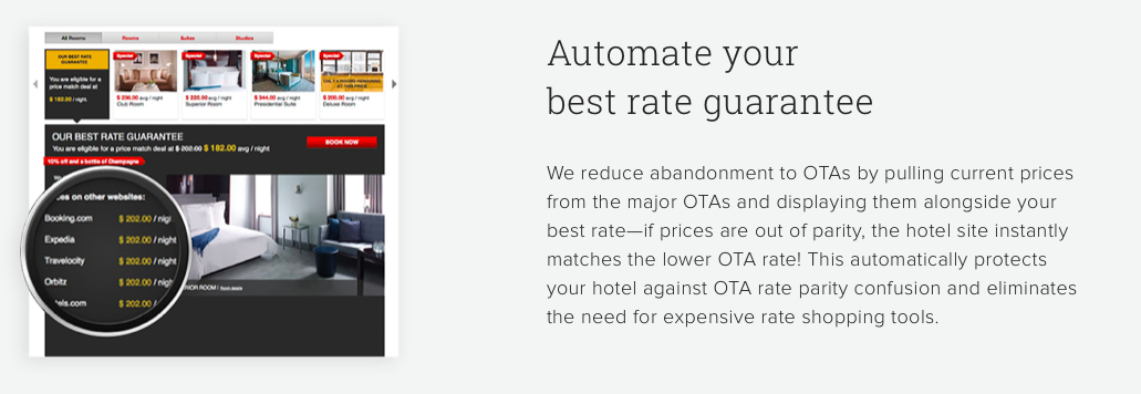 Screenshot - Best Rate Guarantee