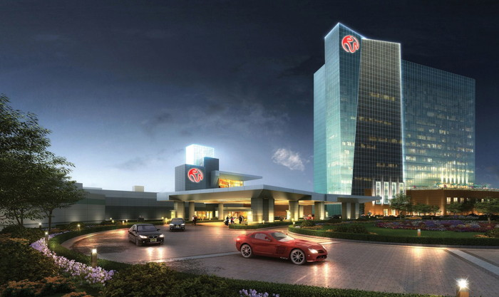 Rendering of the Resorts World Catskills Resort