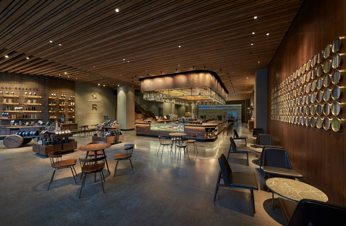 Starbucks in Suzhou - Interior