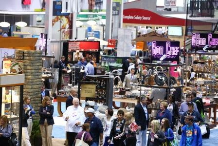 National Restaurant Association Show - Tradeshow floor