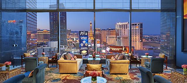 Tea Lounge at the Mandarin Oriental, Las Vegas
