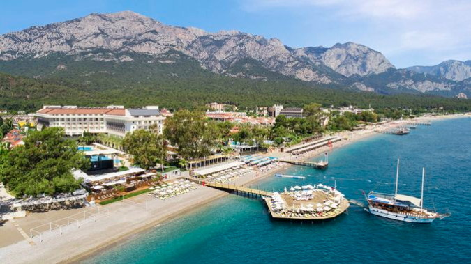 DoubleTree by Hilton Antalya - Kemer - Aerial view from the sea
