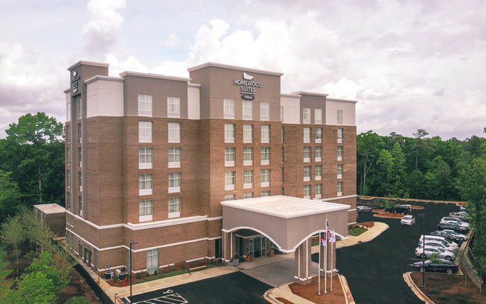 Rendering of the Homewood Suites by Hilton Raleigh Cary I-40