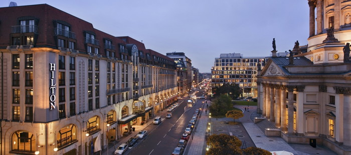 Hilton Berlin - Exterior