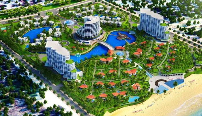 Rendering of the Best Western Premier Cam Ranh Seahorse Beach Resort