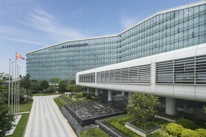 Exterior view of Hyatt Regency Shenzhen Airport