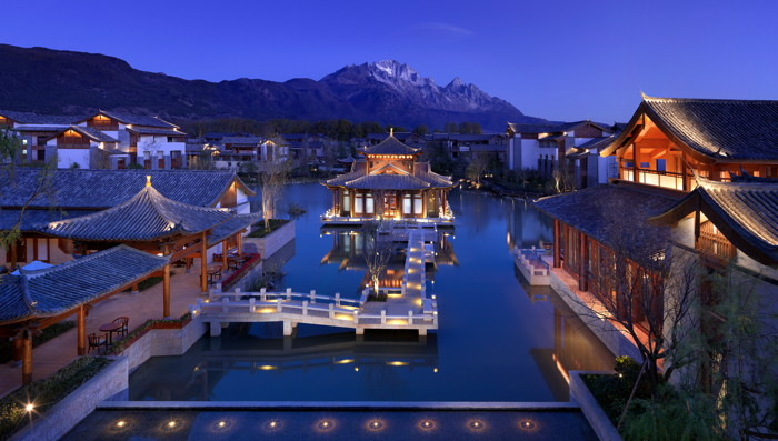 View from Jinmao Hotel Lijiang
