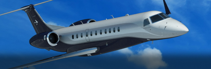 Embraer Legacy 650E business jet
