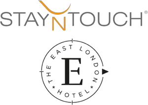 StayNTouch and The East London Hotel logos