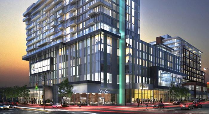 Rendering of the Toronto Marriott Markham Hotel