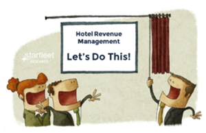 Promotional image for Webinar - How to Evaluate and Select the Right Hotel Revenue Technology