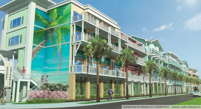 Rendering of the Margaritaville Fort Myers Beach Resort