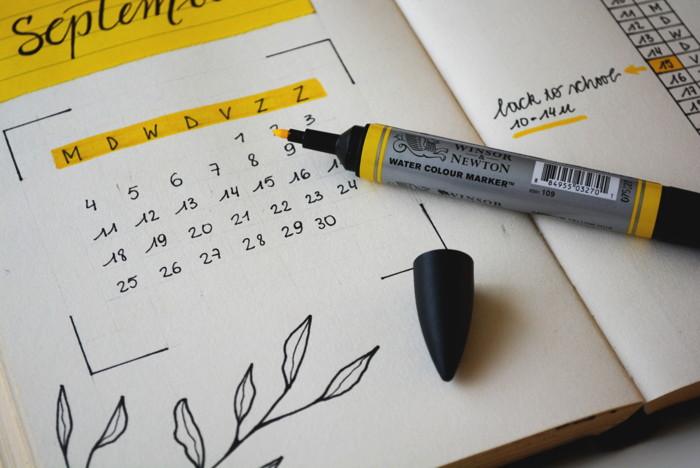 An open calendar - Photo by Estée Janssens on Unsplash