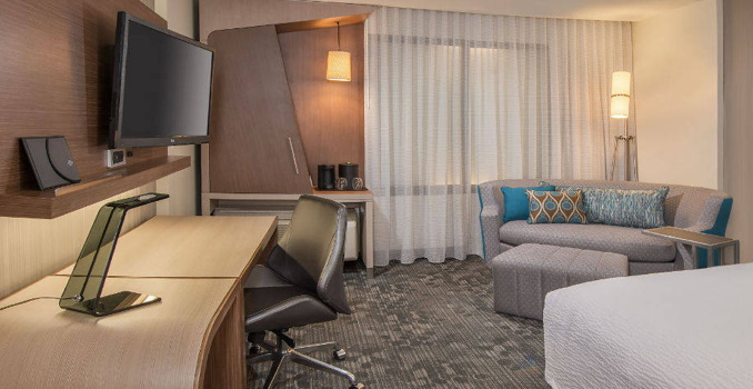 A Courtyard by Marriott suite