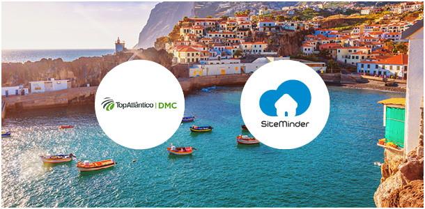 Top Atlantico DMC and SiteMinder logos