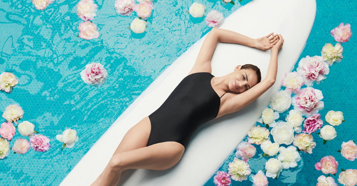 Image from Waldorf Astoria Marketing Campaign - Woman in a pool