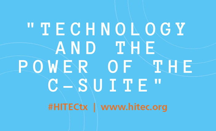 Promotional image for HITEC Houston Tuesday General Session
