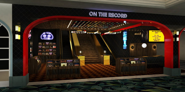 Entrance to On The Record