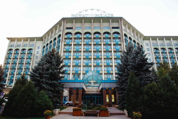 Exterior view of Hyatt Regency Almaty, Rahat Palace