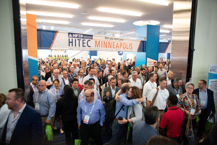 Attendees at HITEC Houston