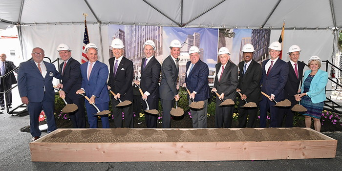 Image from Marriott ground breaking ceremony