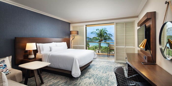 Guestroom at the Westin Hapuna Beach Resort