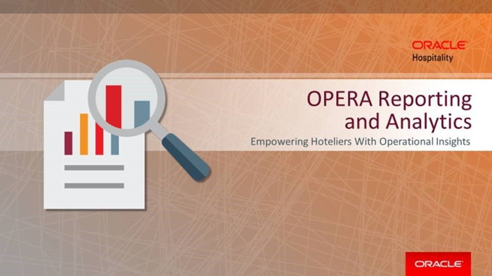 OPERA Reporting and Analytics