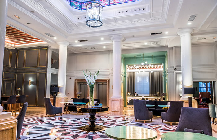 Housed in the former palace of the Empress Eugenia De Montijo, from which the hotel takes its name, the hotel has 40 guest rooms and two luxurious bedroom suites.