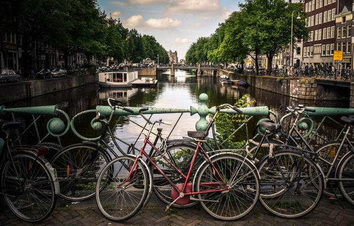 Canal in Amsterdam, Netherlands - Photo by Jace & Afsoon on Unsplash