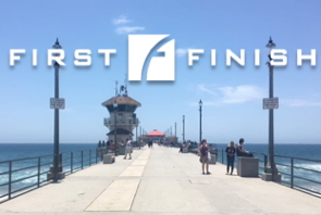 First Finish logo